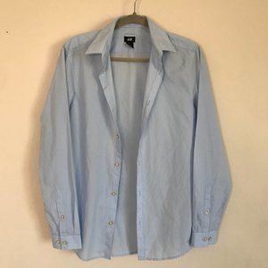 Button Up Shirt - Light Blue